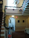 grand staircase at Glenview Mansion