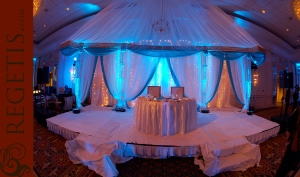 Fairview Park Marriott - The sparkly stage for the sweetheart table