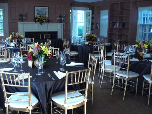 Hollin Hall Fireplace Room