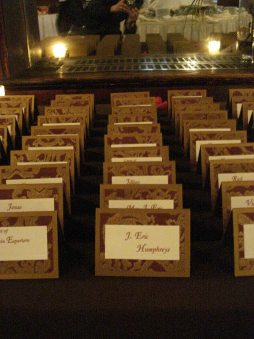 Escort Cards by Haute Papier