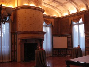 Another beautiful room which was used for cocktail hour
