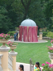 Gazebo at the Omni Shoreham Hotel