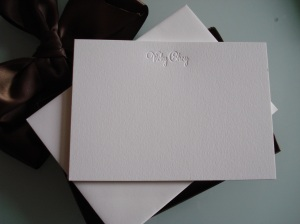 Haute Papier Letterpress Stationery