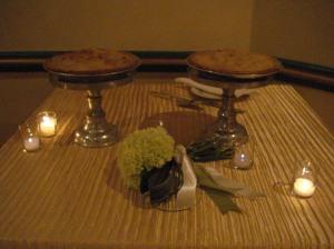 Apple pie at Clarendon Ballroom
