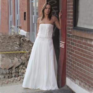 Punk Rock Bride style Caroline