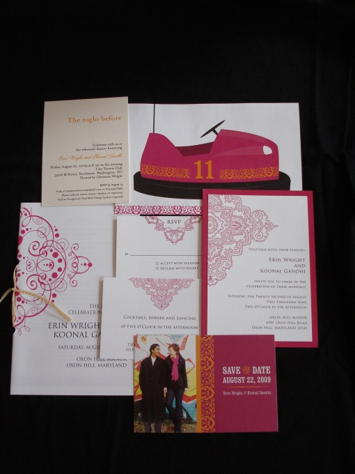 wedding paper products design with Event Accomplished