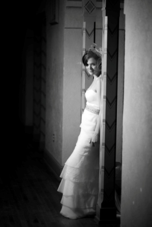 Glen Echo Park wedding bride