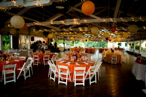 Glen Echo Park Bumper Car Pavilion Wedding