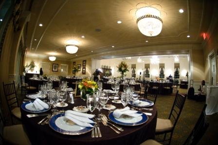 wedding reception Washington Golf and Country Club fall