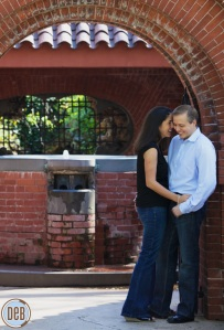 engagement photos bride groom by Deb Lindsey