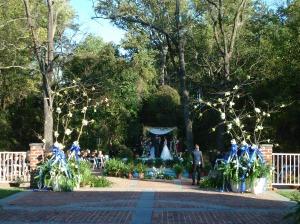 Newton White Manor jewish wedding ceremony