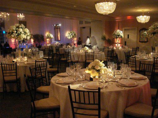 Washington Golf Country Club wedding reception